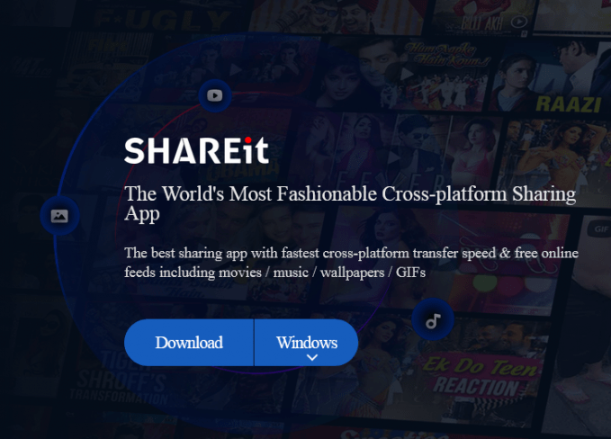 Download SHAREIT FOR PC windows 7