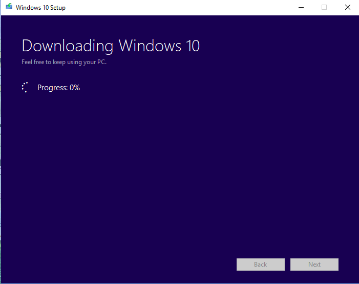 Download upgrade for windows 10