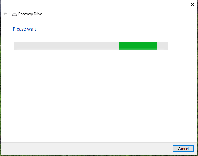 next Recovery drive windows 8-10