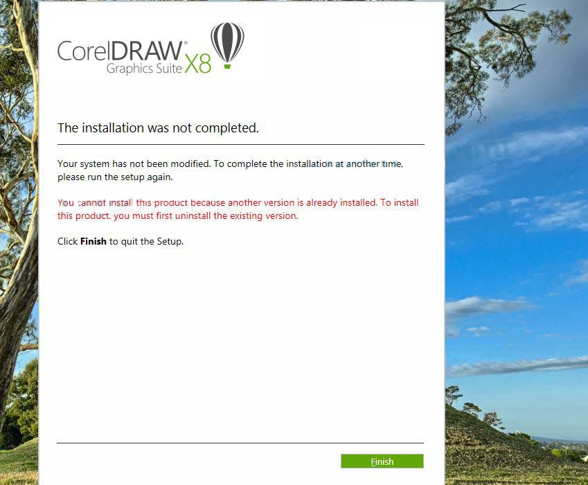 The-installation-was-not-Completed-CorelDrawx8-copy