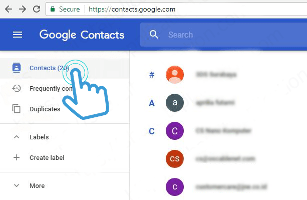 google-contacts-mailing-list-gmail