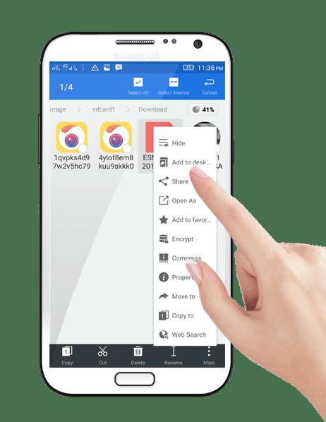 select- file -Add-to desktop