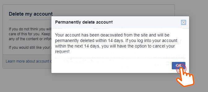 Permanently-delete-account-facebook-within-14-days