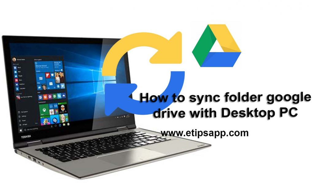 How to sync folder google drive with Desktop PC laptop