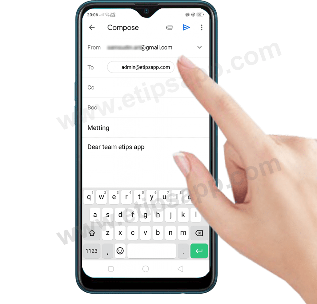 Compose gmail