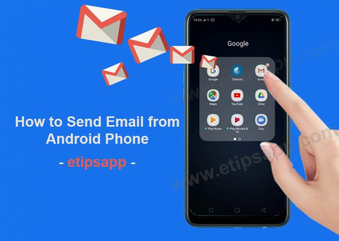 How to send email from android phone