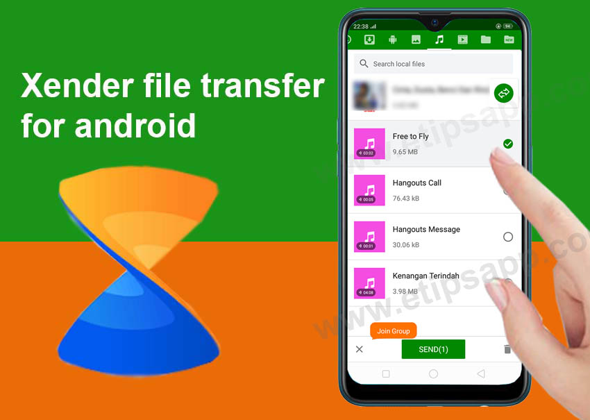 Xender-file-transfer-for-android