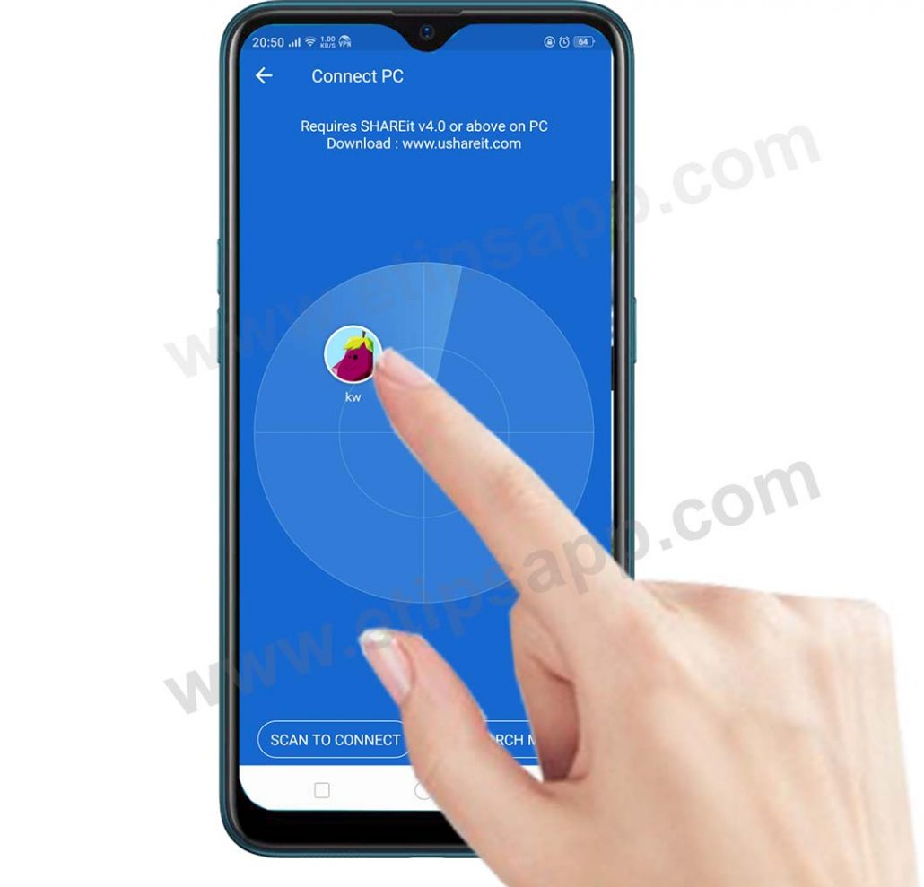 avatar shareit connect new android phone
