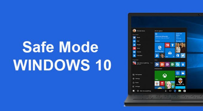 How to safe mod windows 10