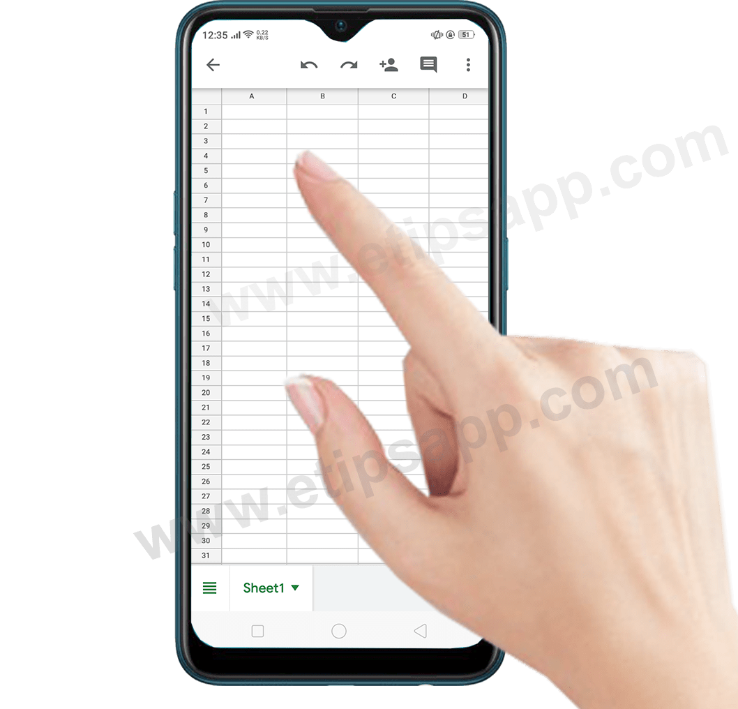 create document google sheets on android