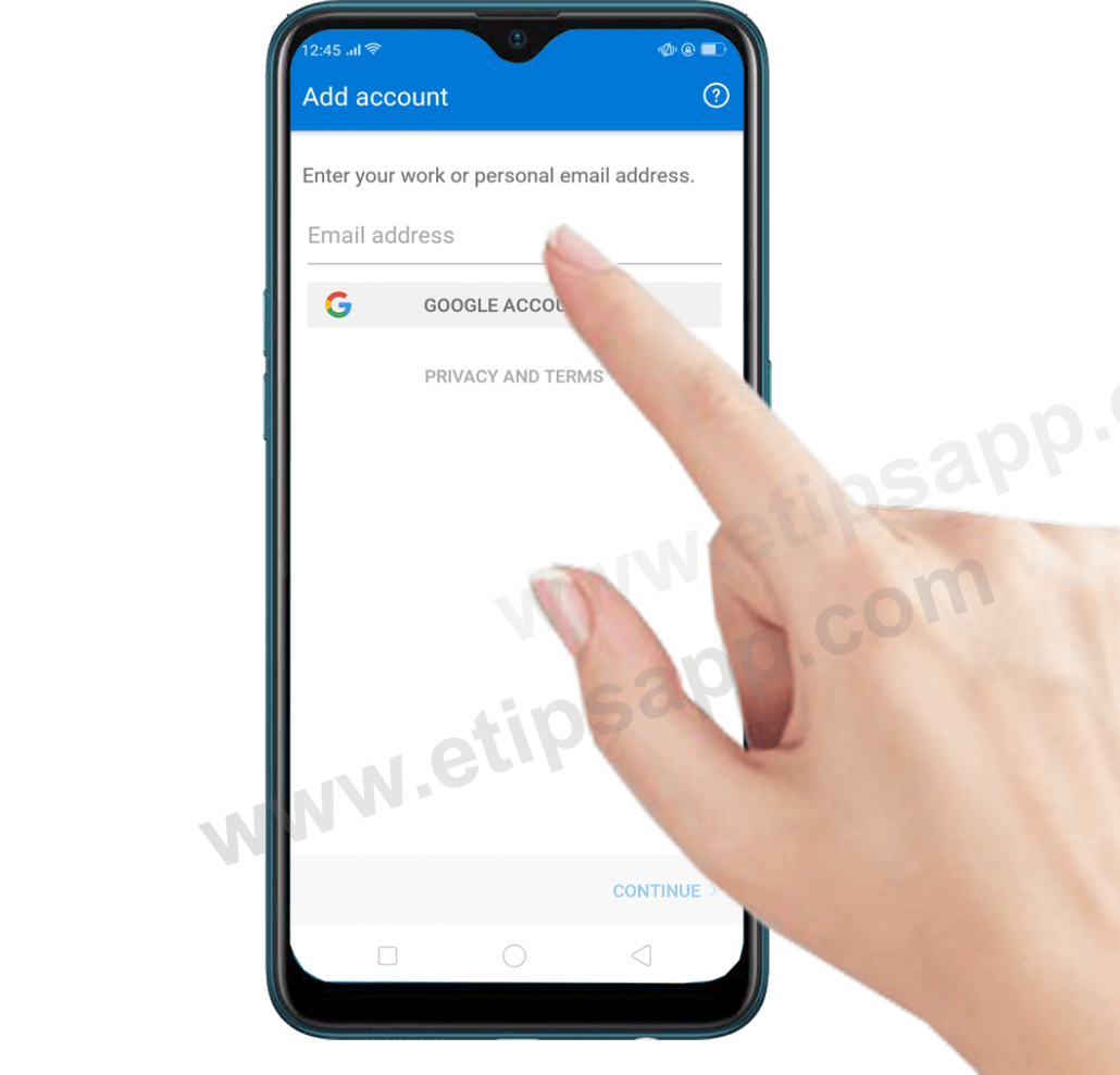 how to add email outlook for android free