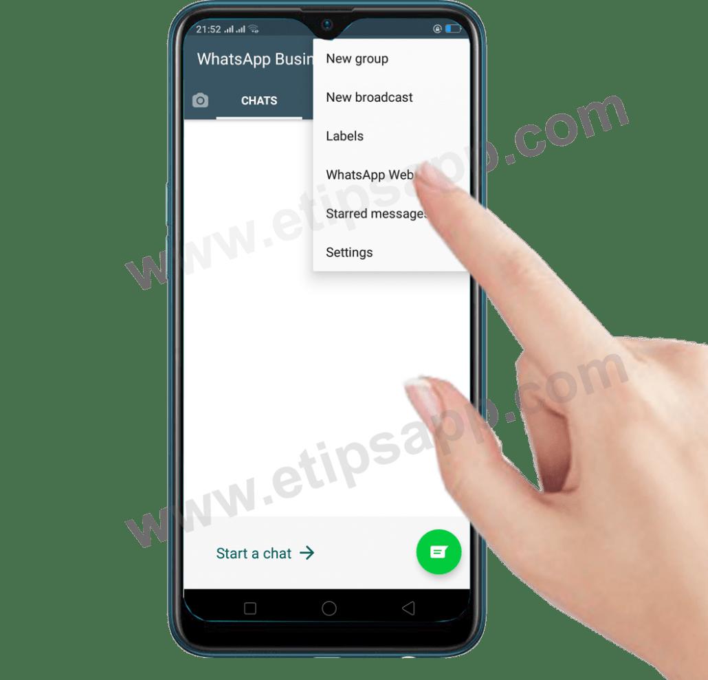 whatsapp web business