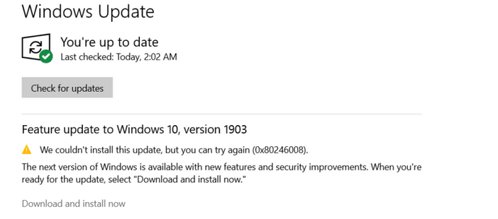 Download dan install now update windows 10
