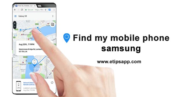 Find my mobile phone samsung