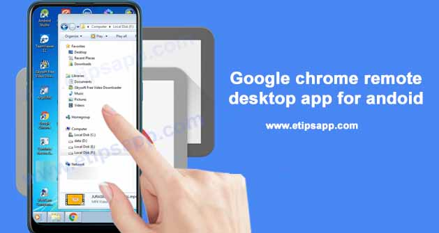 Google chrome remote desktop app for andoid