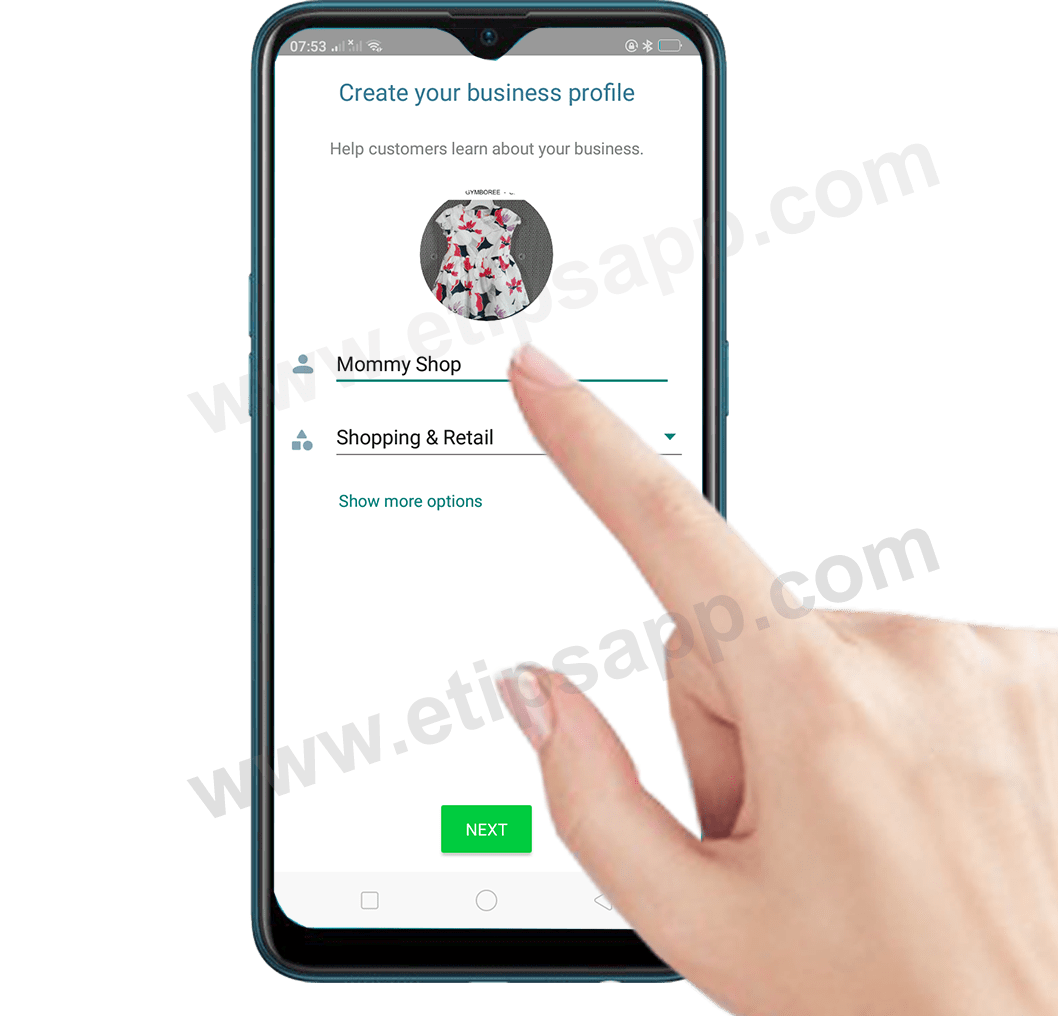 How to Create your business profile WhatsApp Business