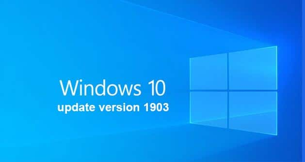 How to Windows 10 update version 1903