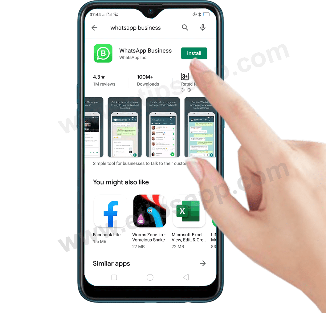 How to install WhatsApp Business on android
