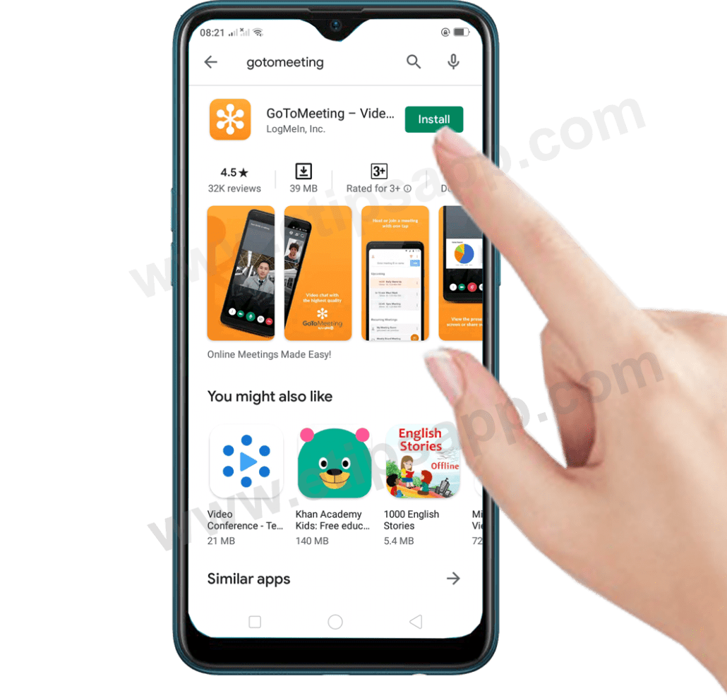 Install GoToMeeting for android