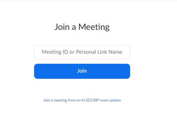 Join a meeting web online