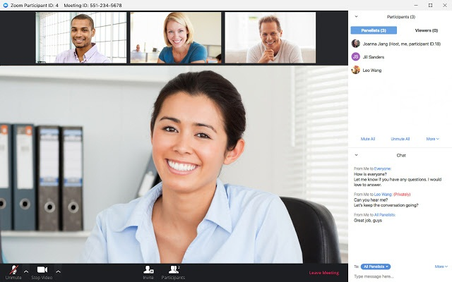 Join meeting Zoom Cloud Meetings for laptop