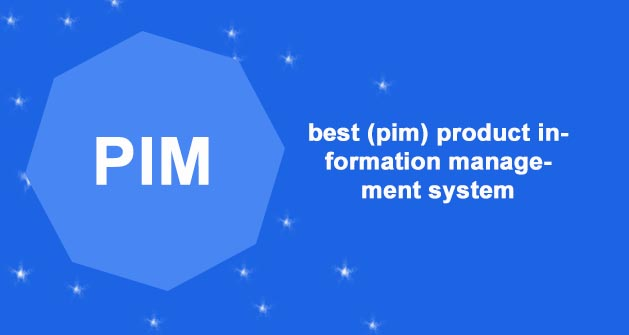 best (pim) product information management system