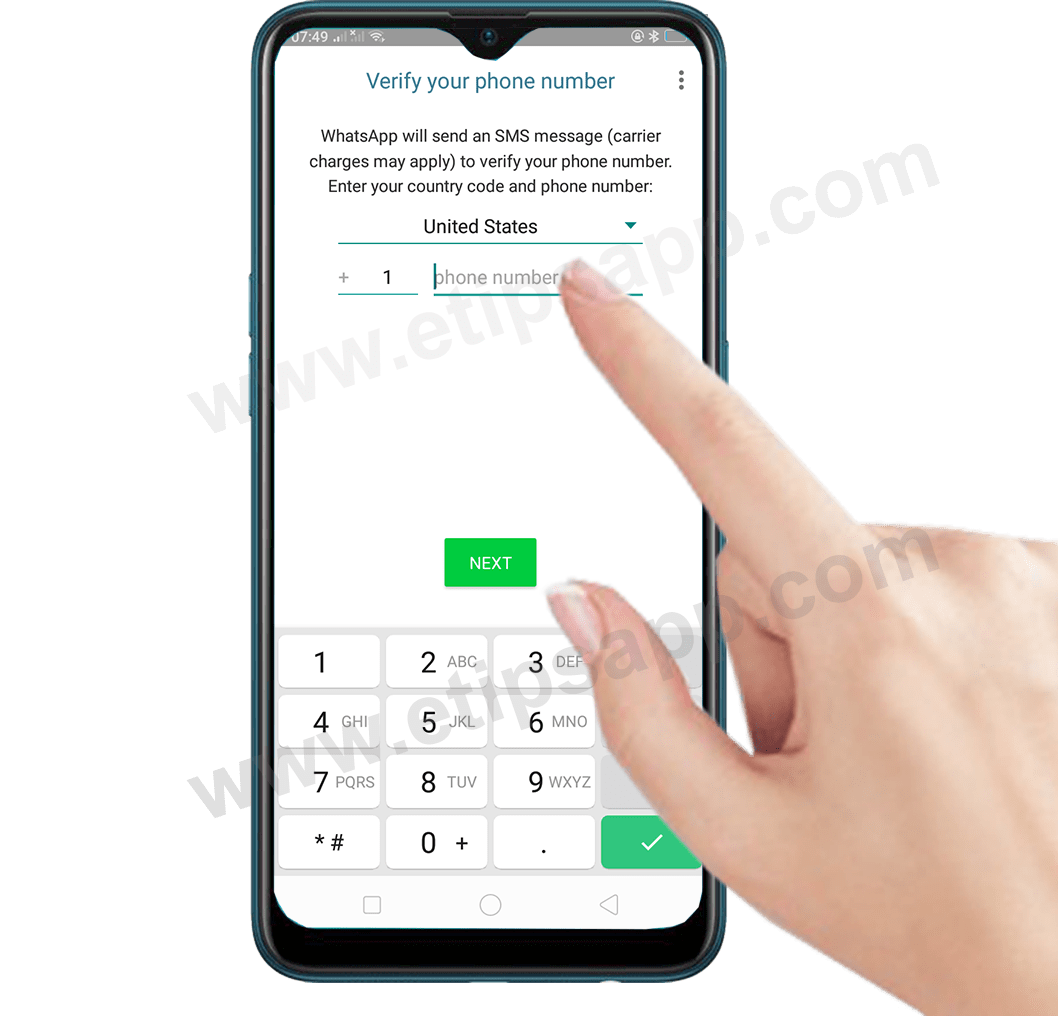 how to Verify your phone number WhatsApp Business