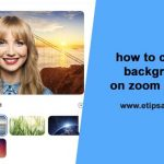 how to change background on zoom meeting app