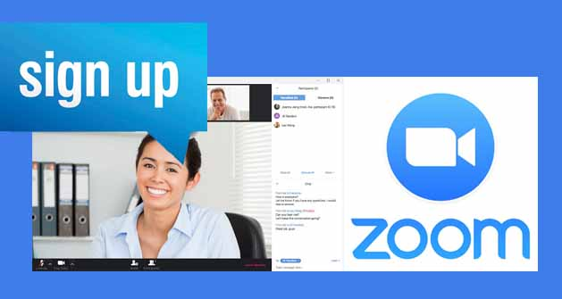 how to sign up for zoom zoom sign up