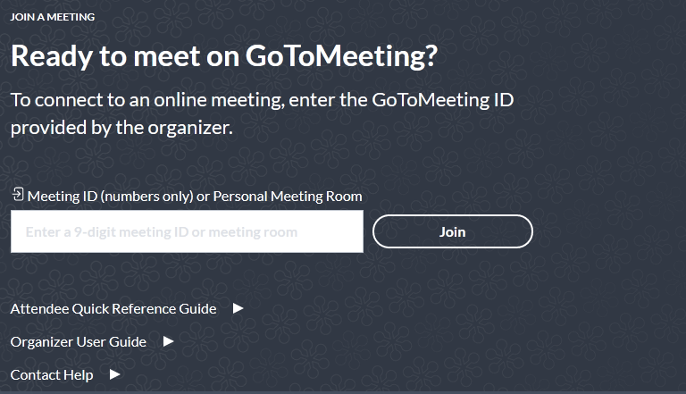 joingotomeeting