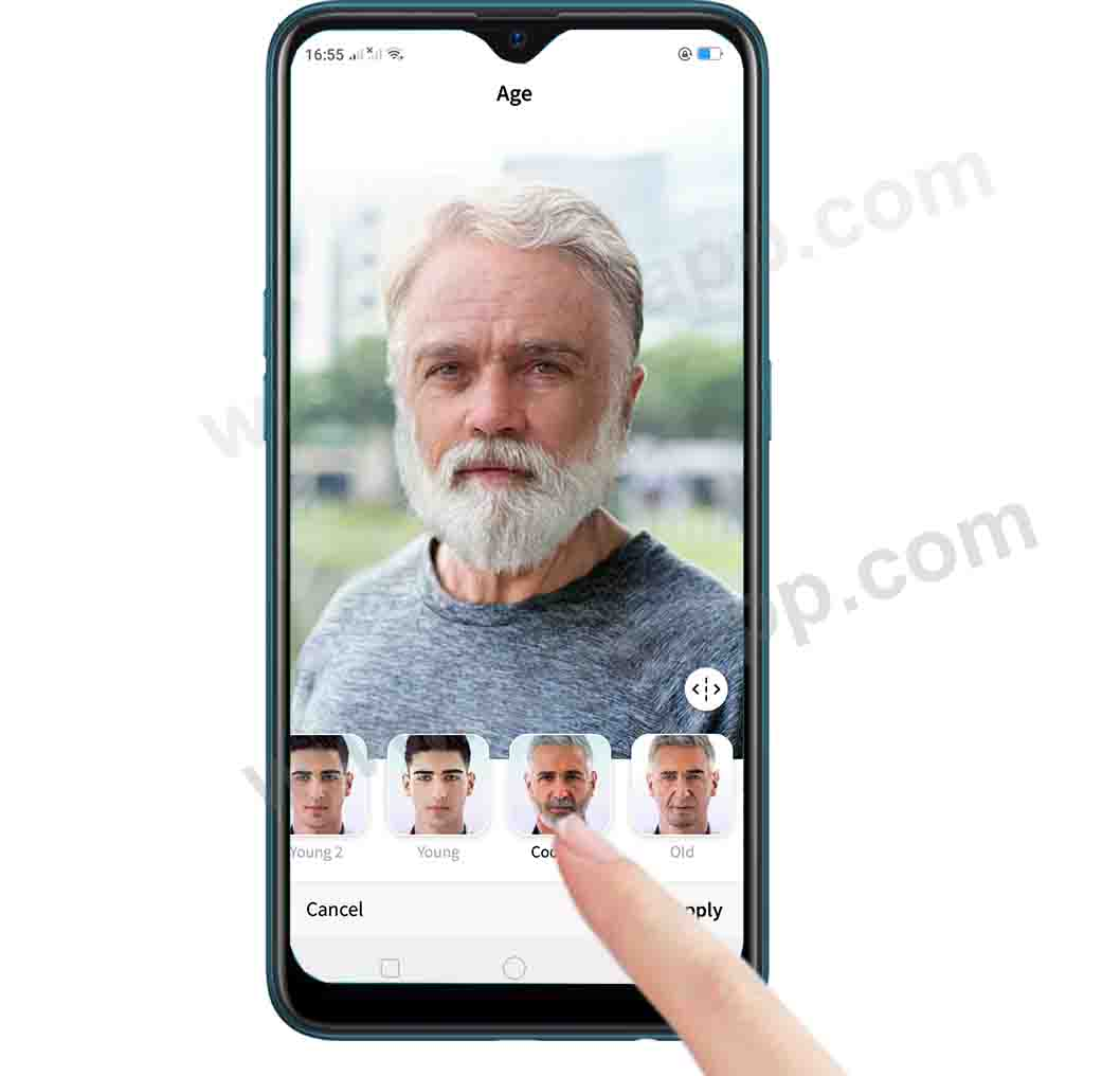 select age on faceapp