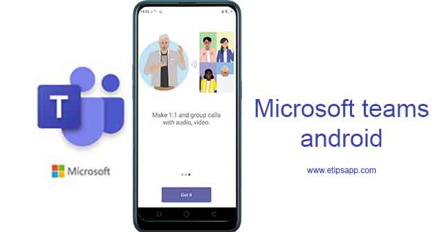 Microsoft teams android
