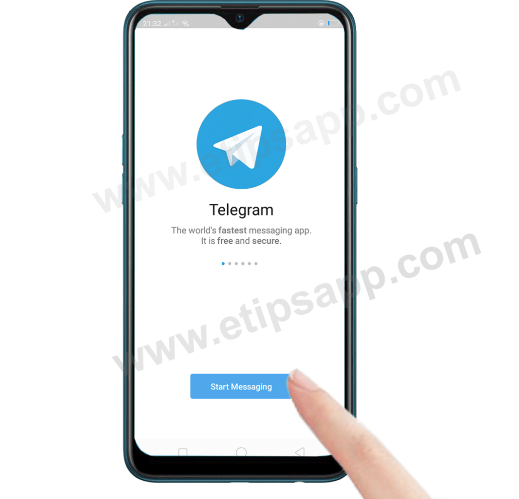 Start Messaging Telegram