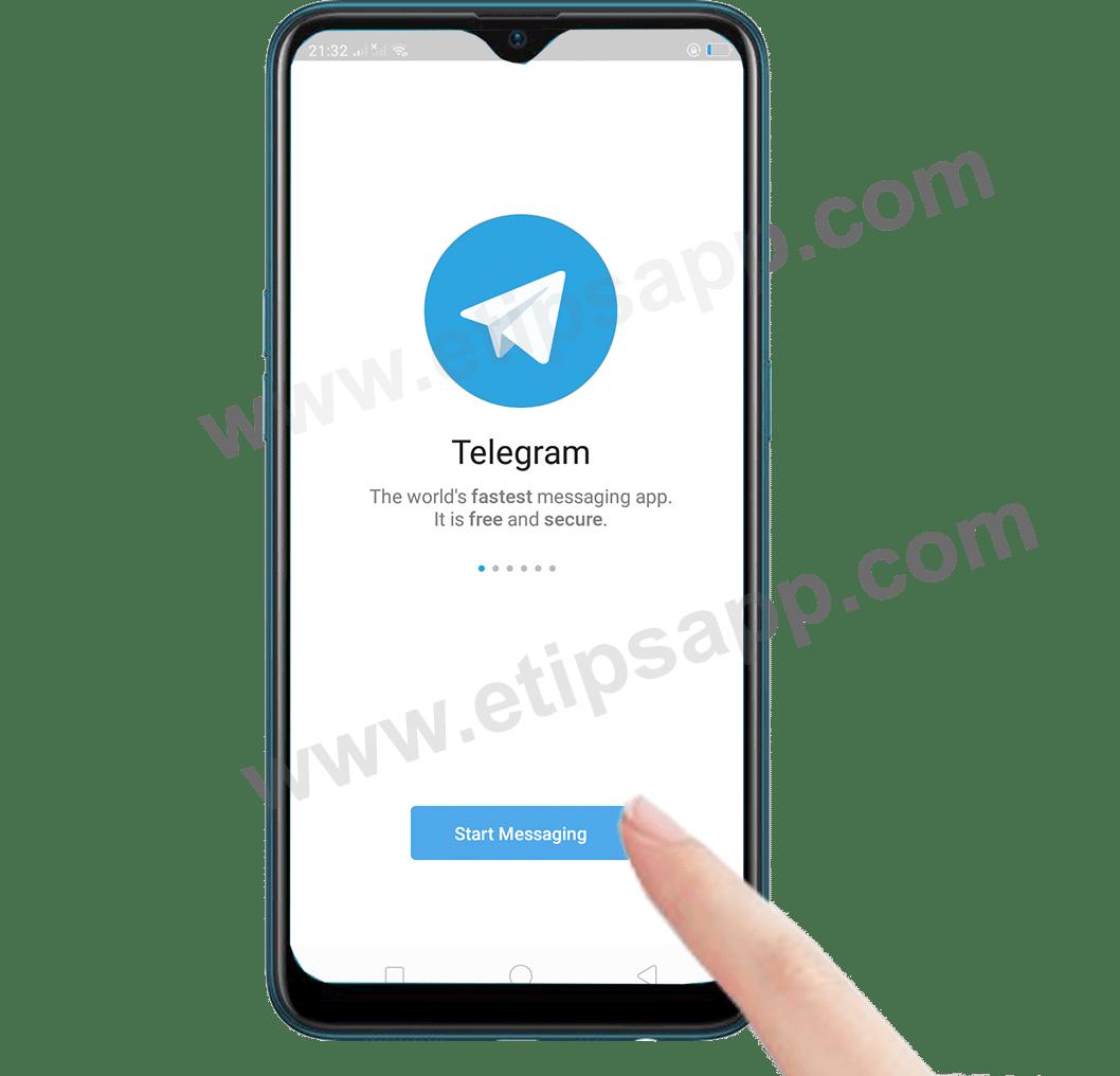 Start Messaging Telegram