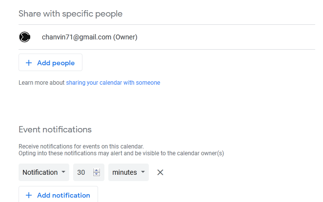 add people google calendar