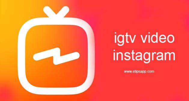 igtv video instagram
