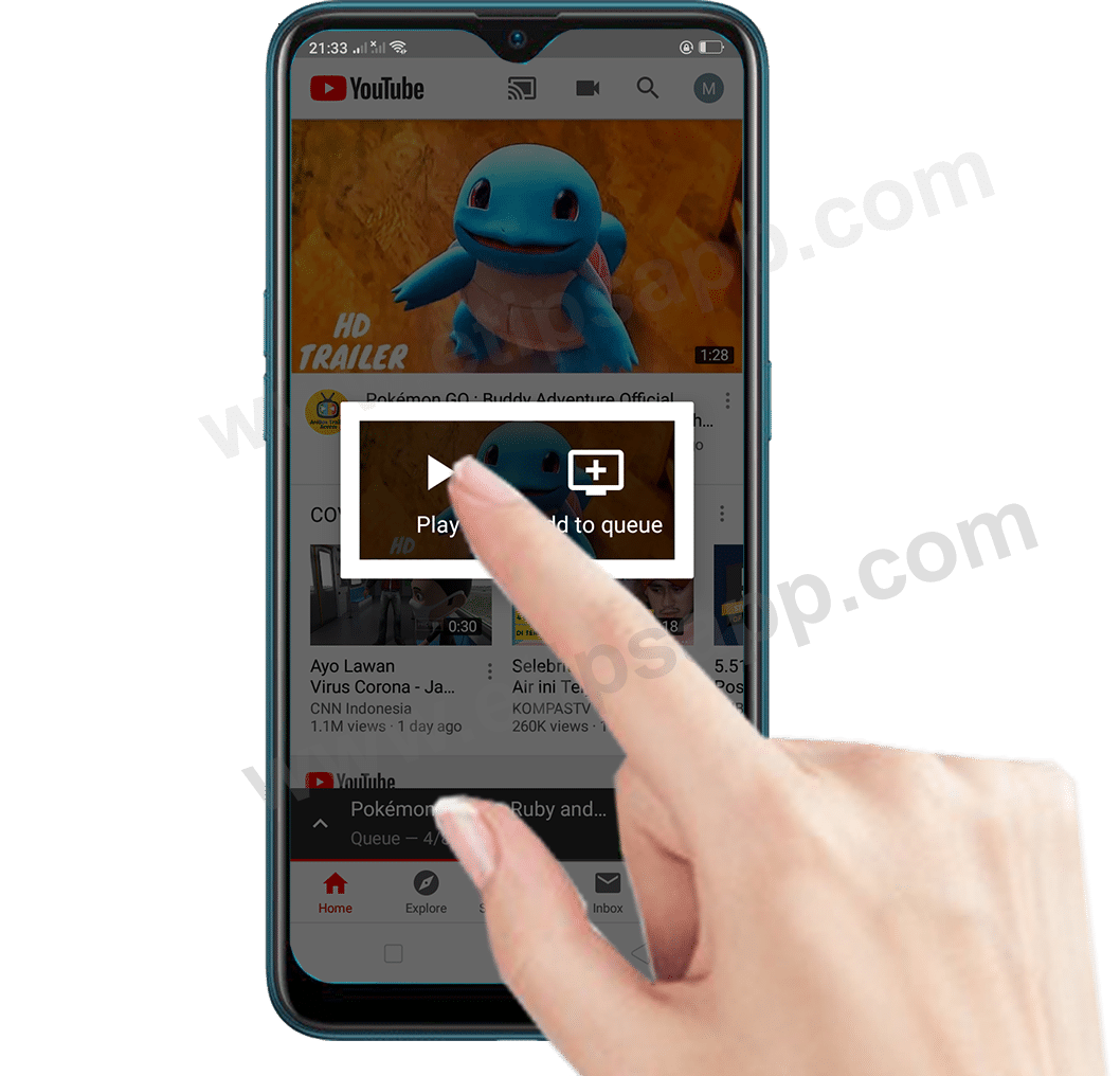 play Cast to TV youtube