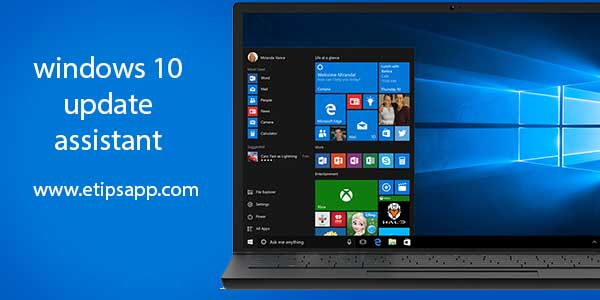 how to windows 10 update 2004 using windows 10 update assistant