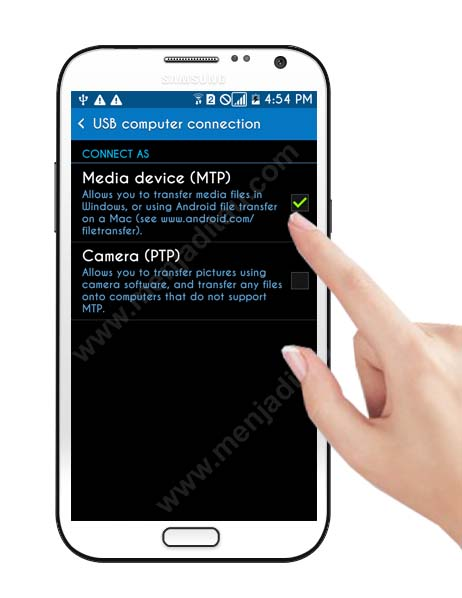 how to-enable-Media-device-MTP-in phone