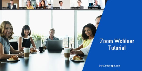 Zoom Webinar Tutorial