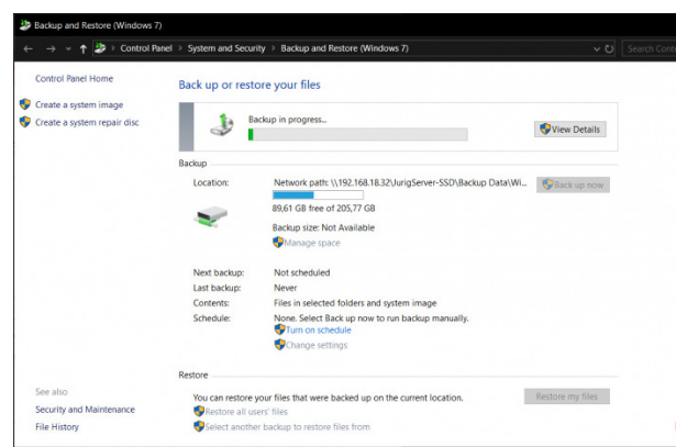 How To Backup Windows 10 System