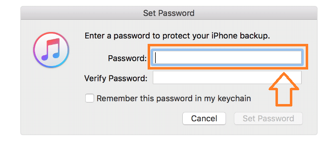 How to Encrypt Local Backup Files using iTunes