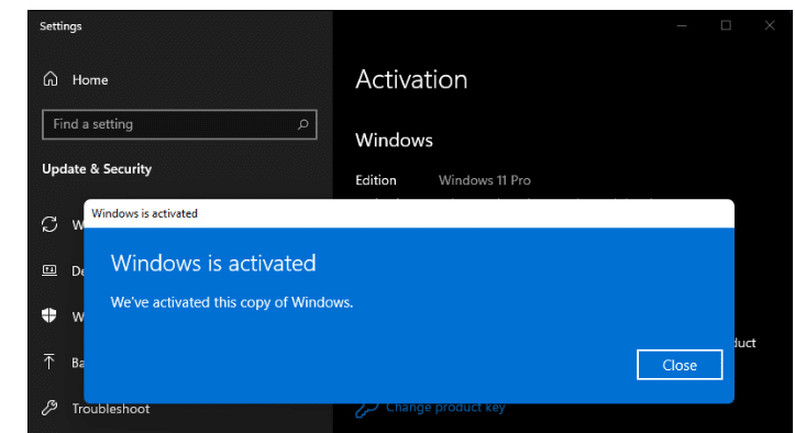 How to Activate Windows 11 Pro