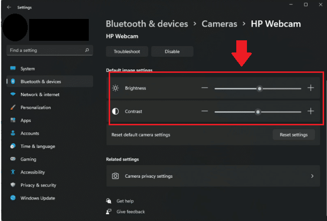 How to Change Camera Settings in Windows 11